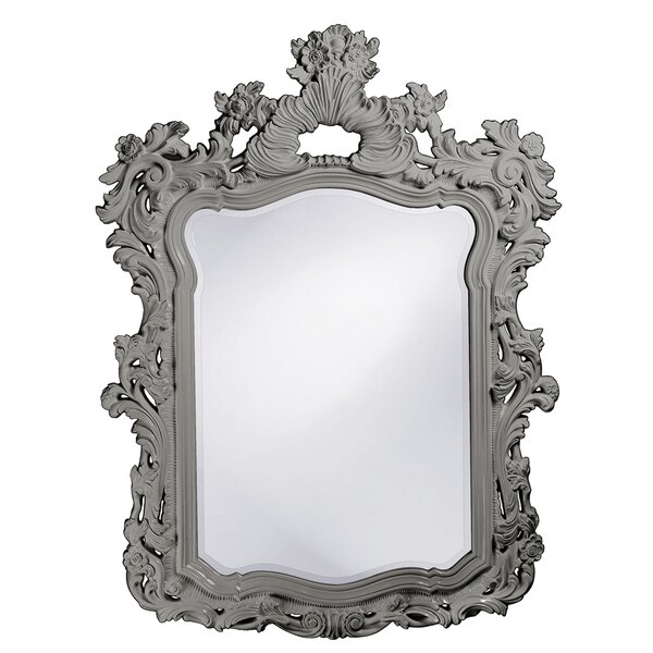 Glossy Lacquer Accent Mirror by Astoria Grand