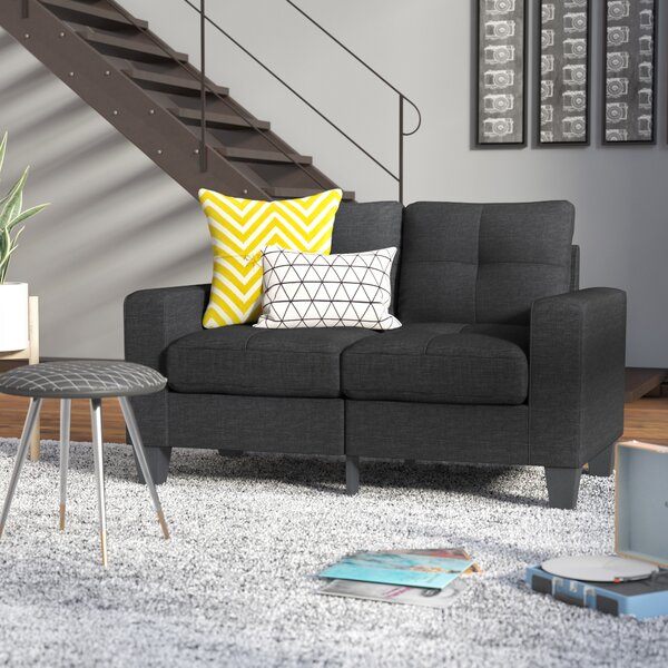 New Look Collection Buncombe Loveseat by Latitude Run by Latitude Run