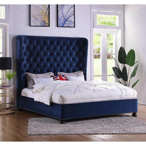 Houk King Upholstered Standard Bed by Mercer41
