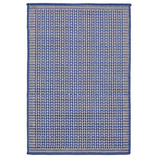 Clatterbuck Texture Blue Indoor/Outdoor Area Rug by Highland Dunes