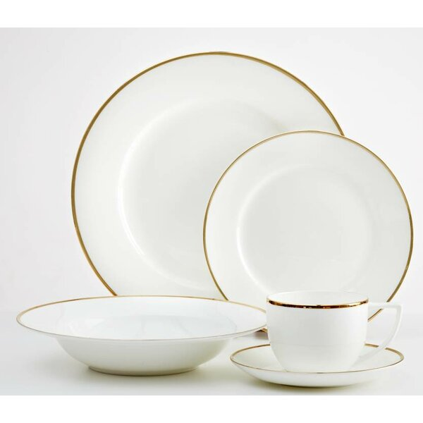 Elverson 20 Piece Dinnerware Set, Service for 4 by Mint Pantry