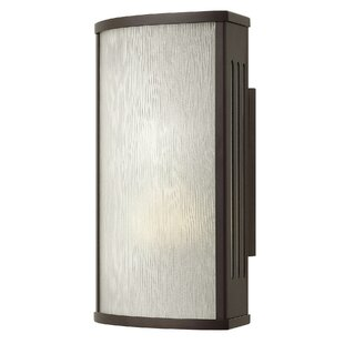 Read Reviews District LED Outdoor Sconce By Hinkley Lighting