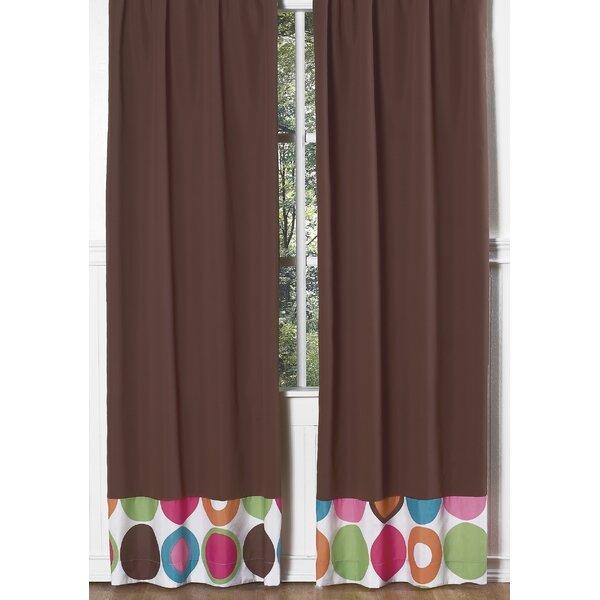 Deco Dot Curtain Panels (Set of 2) by Sweet Jojo Designs