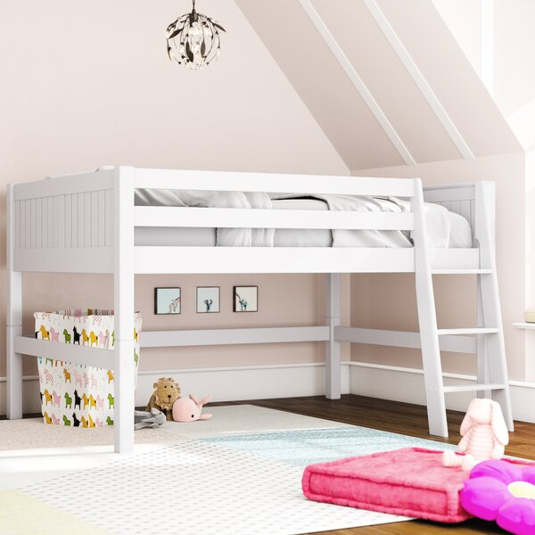 Burkley Full Low Loft Bed by Mack & Milo