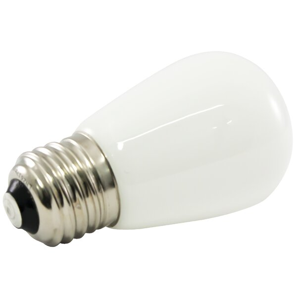 Frosted E26/Medium LED Light Bulb (Set of 25) by American Lighting LLC