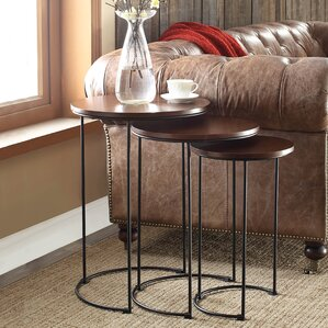 Audrey 3 Piece Nesting Tables by August Grove