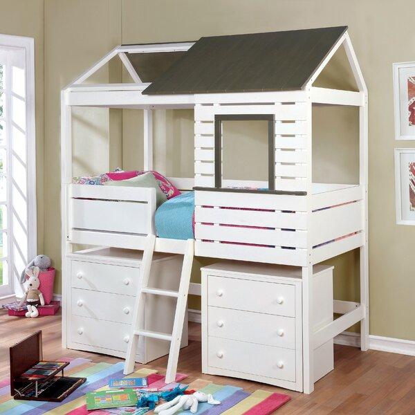 Eliseo Twin Loft Bed by Zoomie Kids