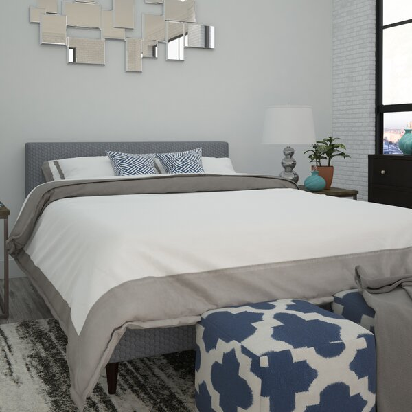 Acton Upholstered Platform Bed by Brayden Studio
