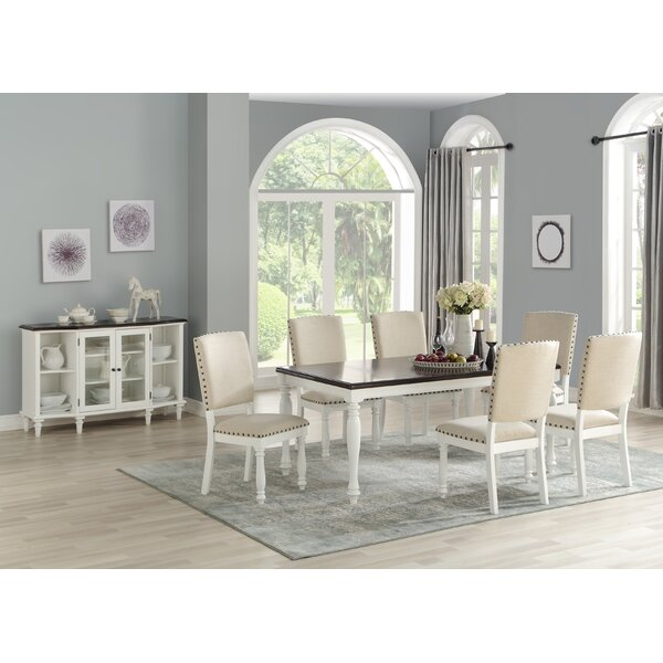 Mitch 7 Piece Dining Set by Highland Dunes