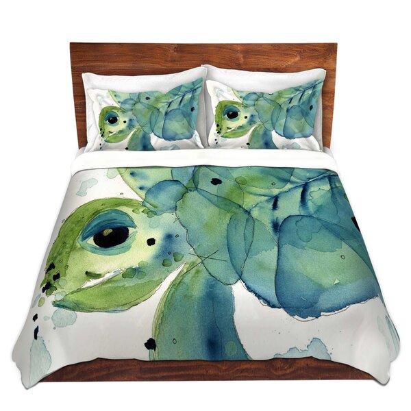 Winterville Dawn Derman Sea Turtle Microfiber Duvet Covers