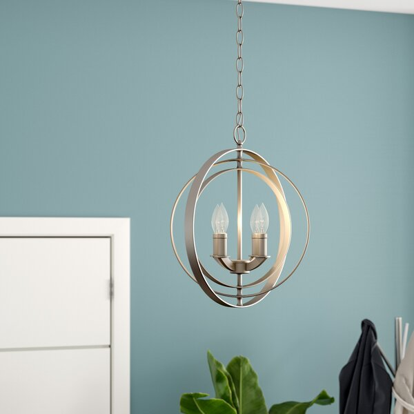 Morganti 4-Light Chandelier by Brayden Studio
