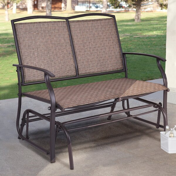 Gries Patio Rocking Bench by Fleur De Lis Living