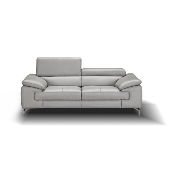Mayer Leather Loveseat by Orren Ellis Orren Ellis