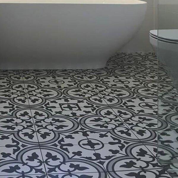 Artea 9.75 x 9.75 Porcelain Field Tile in Gray by EliteTile