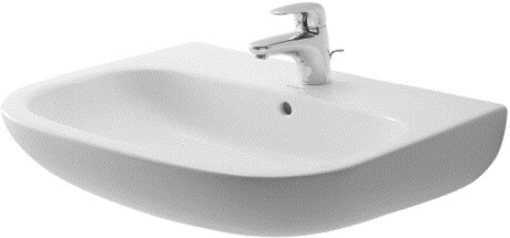 D-Code Ceramic 26 Wall Mount Bathroom Sink with Overflow by Duravit