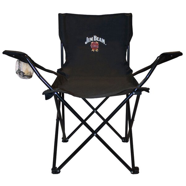 Steel Folding Chair by Jim Beam