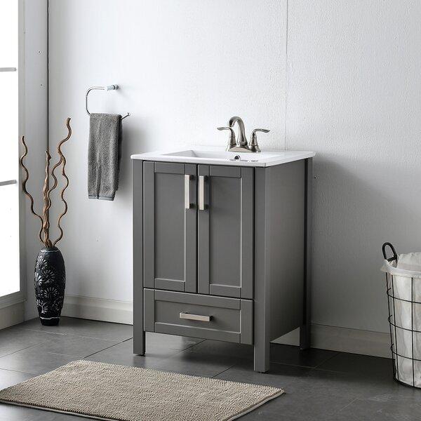 Gaetan 24 Single Bathroom Vanity Set
