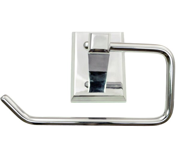Utica Wall Mounted Euro Toilet Paper Holder