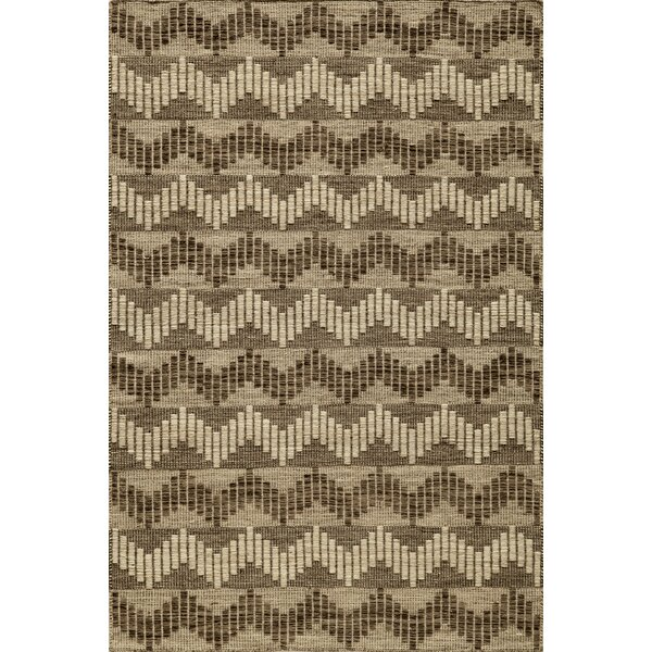 Highland Hand-Woven Gray Area Rug by World Menagerie
