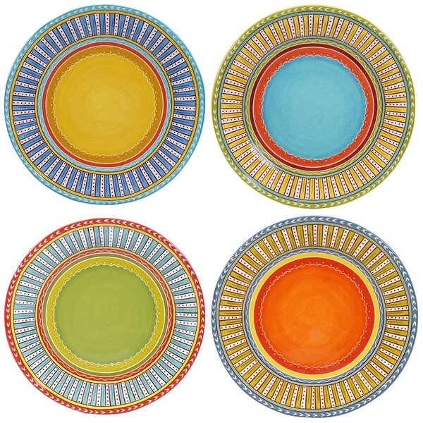 Valencia 11.25 Dinner Plate (Set of 4) by Certified International