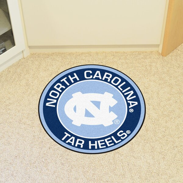 NCAA University of North Carolina - Chapel Hill Roundel Mat by FANMATS