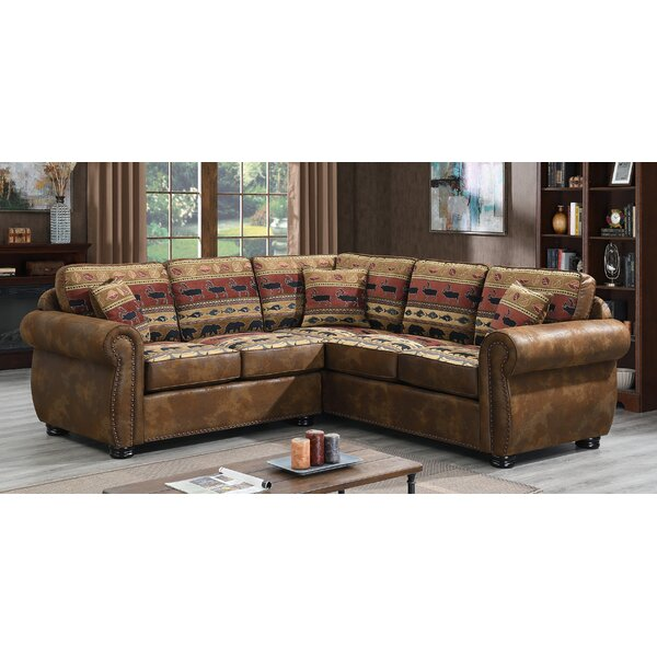 Lecuyer Wildlife Pattern Symmetrical Sectional By Millwood Pines
