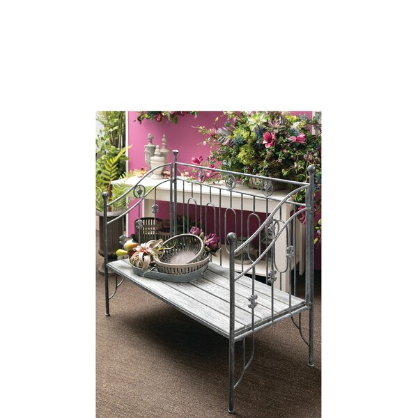 Tavares Iron Garden Bench by August Grove