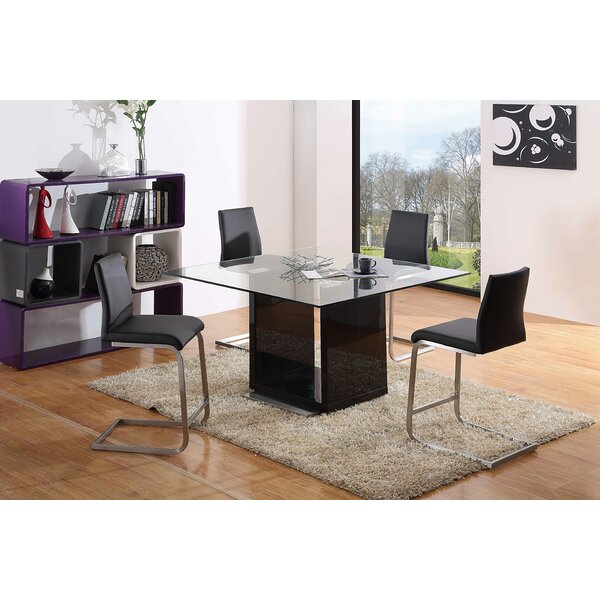 Scala Square Dining Table by Orren Ellis Orren Ellis