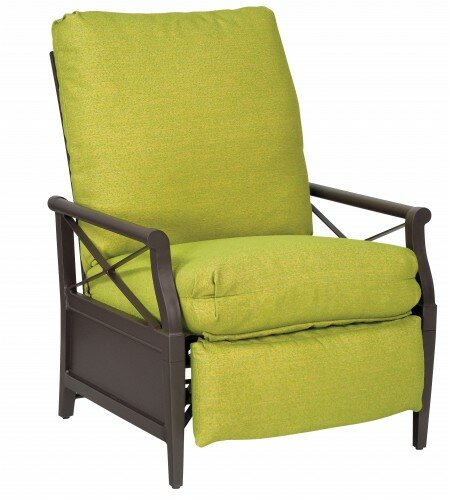 Andover Patio Chair with Cushions by Woodard