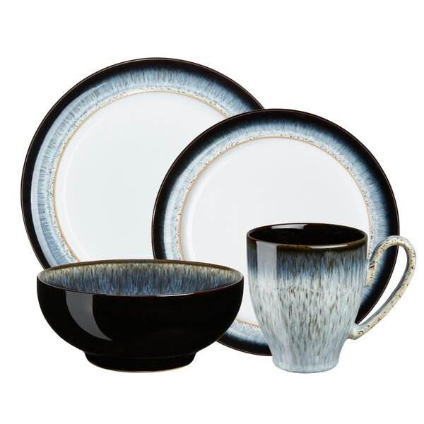 Halo 4 Piece Place Setting, Service for 1 by Denby