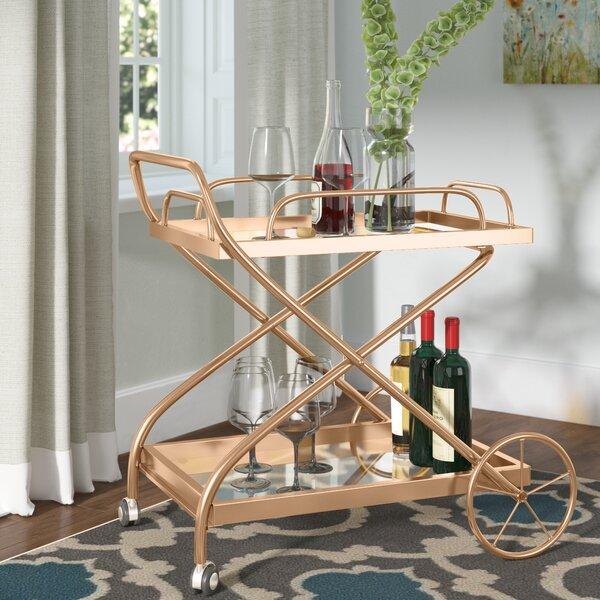 Mattern Indoor Bar Cart by Red Barrel Studio