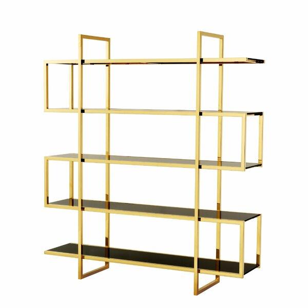 Steel Geometric Bookcase By Eichholtz