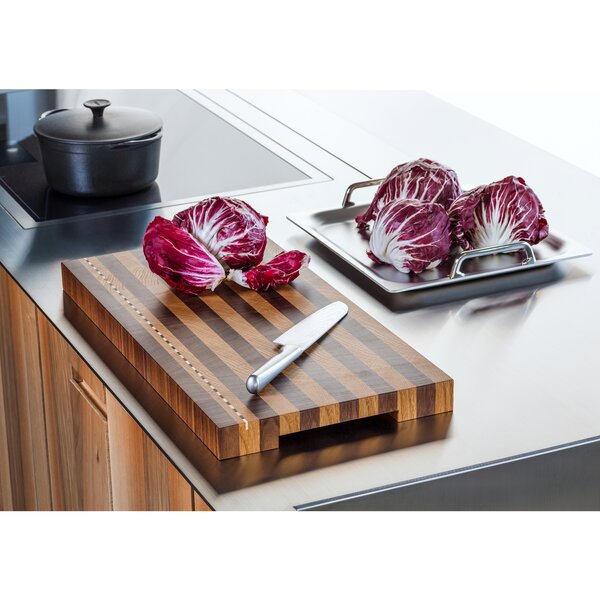 Contrast Wood Cutting Board by Infinita Corporation