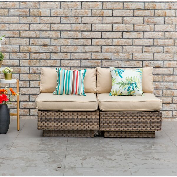 Schulz Patio Chair with Cushions (Set of 2) by Bay Isle Home