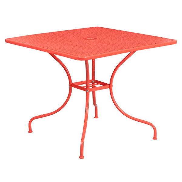 Spearman Metal Dining Table by Winston Porter