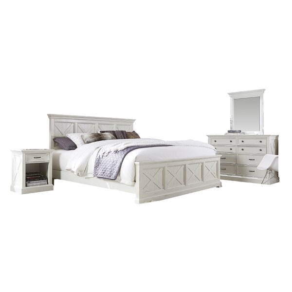 Ryles Panel 4 Piece Bedroom Set by Laurel Foundry Modern Farmhouse
