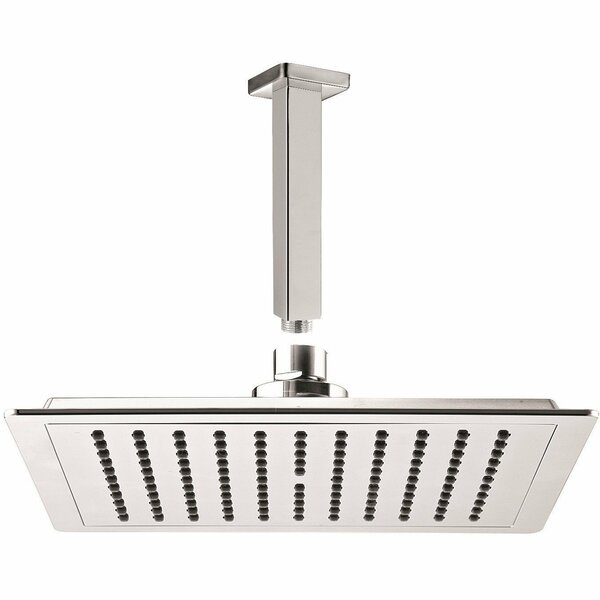 Square Swivel Rain Shower Head by AGM Home Store