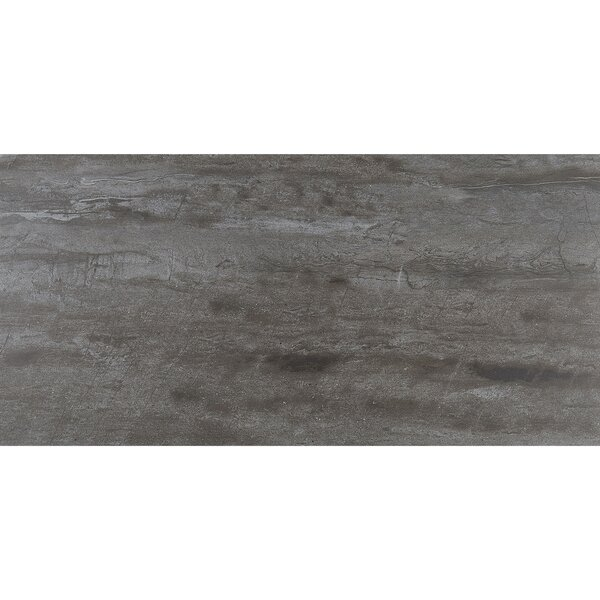 Mansfield 12 x 24 Porcelain Wood Look Tile in Smoky River by Itona Tile