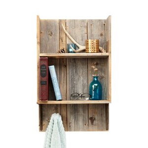 Reclaimed Wood Accent Shelf