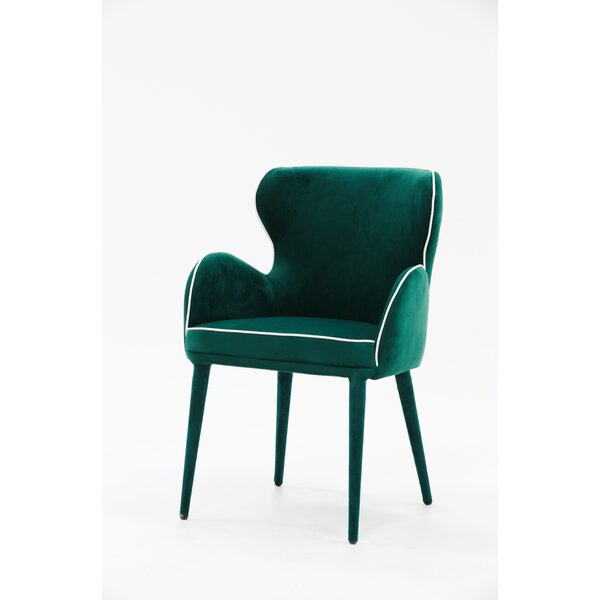 Elna Upholstered Dining Chair by Rosdorf Park Rosdorf Park