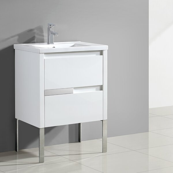 Everage 24 Single Bathroom Vanity Set by Orren Ellis