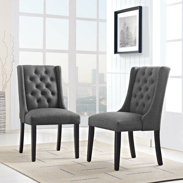 Java Upholstered Dining Chair (Set of 2) by Alcott Hill Alcott Hill