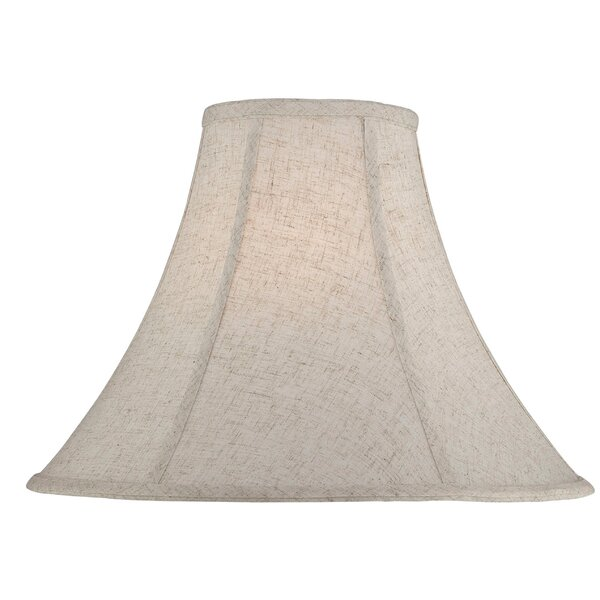 16 Fabric Bell Lamp Shade by Gracie Oaks