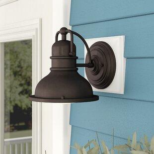 Clearance Campbell Hill 1-Light Outdoor Barn Light By Trent Austin Design