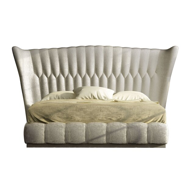 Jerri Upholstered Standard Bed by Everly Quinn