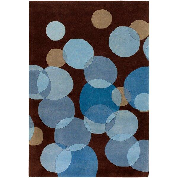 Osteen Brown/Blue Area Rug by Brayden Studio
