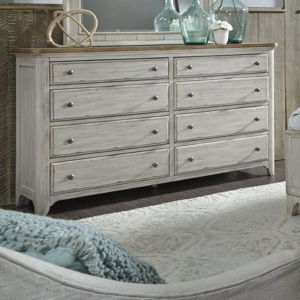 Ellett 8 Drawer Double Dresser by Feminine French Country