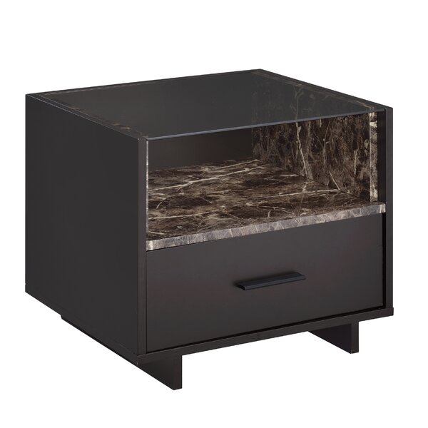 Whitacre 1 Drawer Nightstand by Orren Ellis