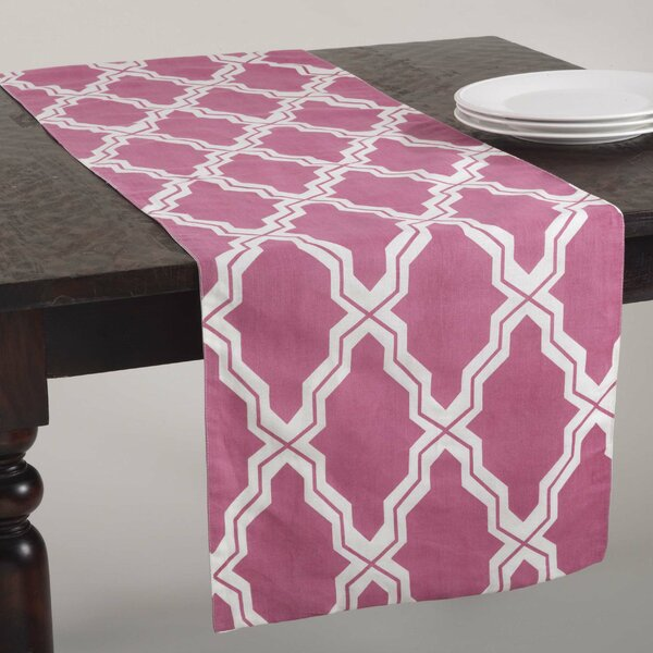 Yasmina Moroccan Design Table Runner by Saro