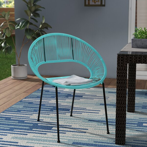Ehrlich Stacking Patio Dining Chair By Ivy Bronx